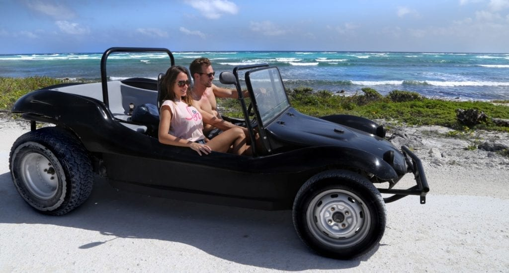 Private Cozumel Buggy Tour With Snorkel and Lunch + Punta Sur