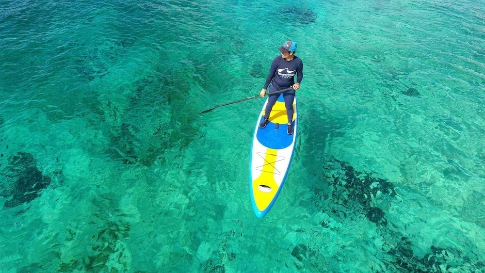 Stand Up Paddle and Snorkeling