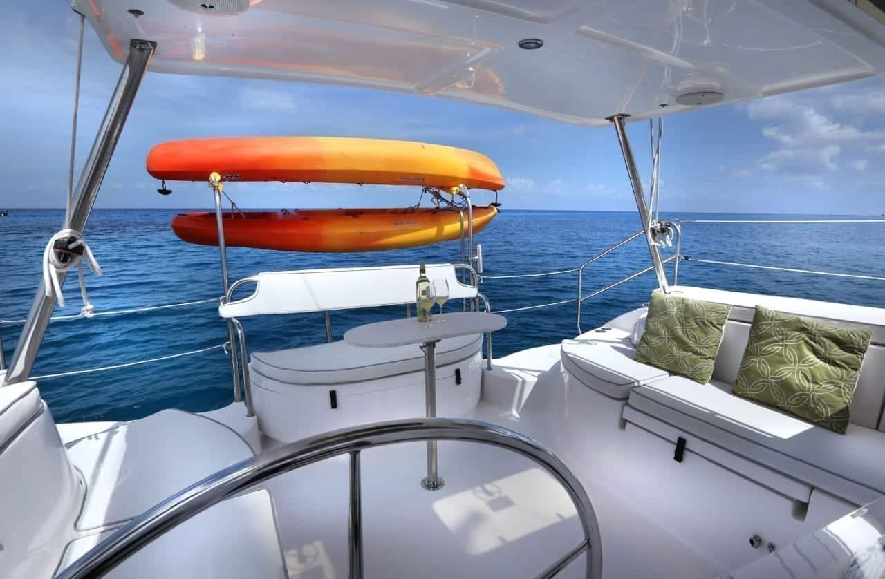 Private Luxury Catamaran in Cozumel by Jeep Riders Cozumel Tours